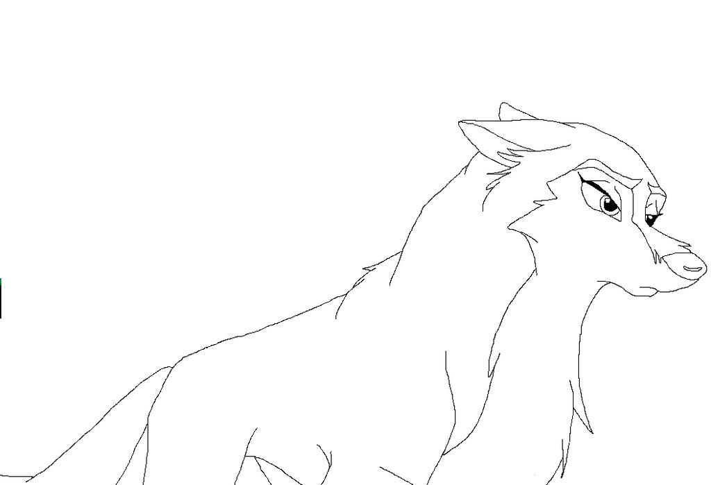 Anime Wolf Pup Base