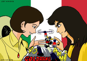 40 anni di Goldrake in Italia (40 years UFO Italy)