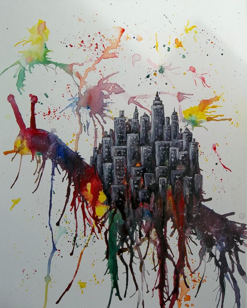 Snail City by QueenRobert