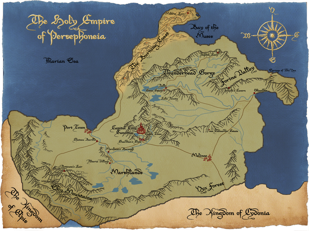 Map of Persephoneia by ikarus-exe
