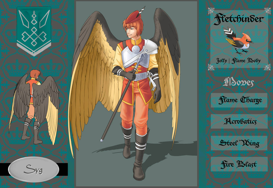 Pokepalace Renaissance Syg The Fletchinder By Ikarus Exe On
