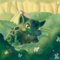 Ivysaur by karookachoo
