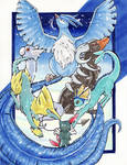 Raffle Prize :KingHunterTheGreat Pokemon Team: