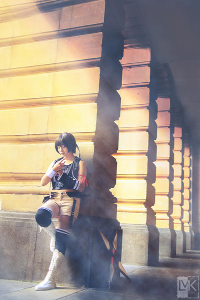 Yuffie - Final Fantasy VII: Advent Children by LMKusanagi