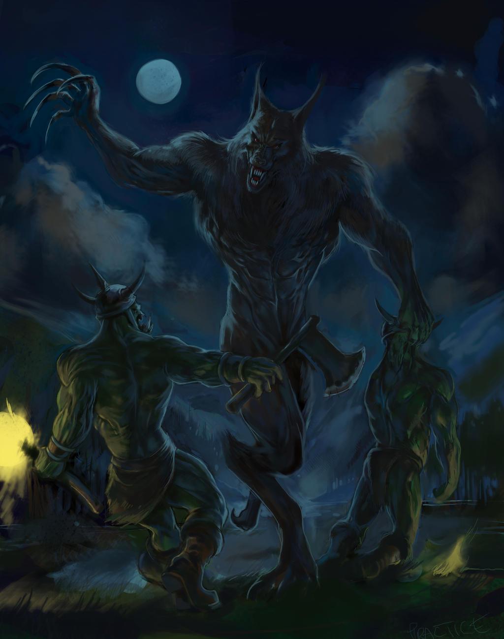 Werewolf Orks by wll4u