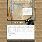 Storyboard artist webdesign