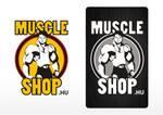Muscle shop logos