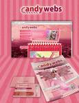 Candywebs corporate identity