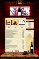 Vino website design by naranch