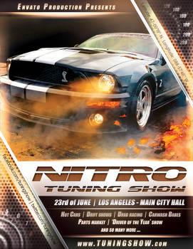 Nitro Tuning Show flyer version 2