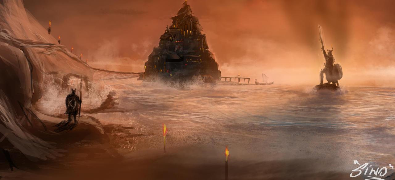 viking seas by SinoStefan
