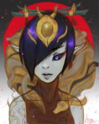 Lunar Wraith Morgana by veronager
