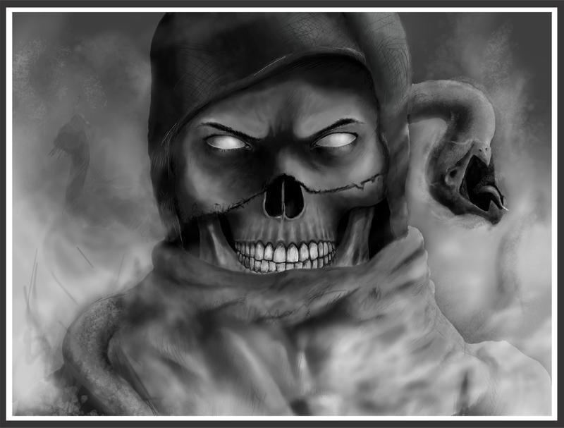Mortal Kombat - Scorpion by shan3990