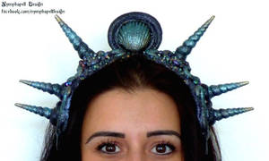 Sea witch mermaid crown Cosplayflex