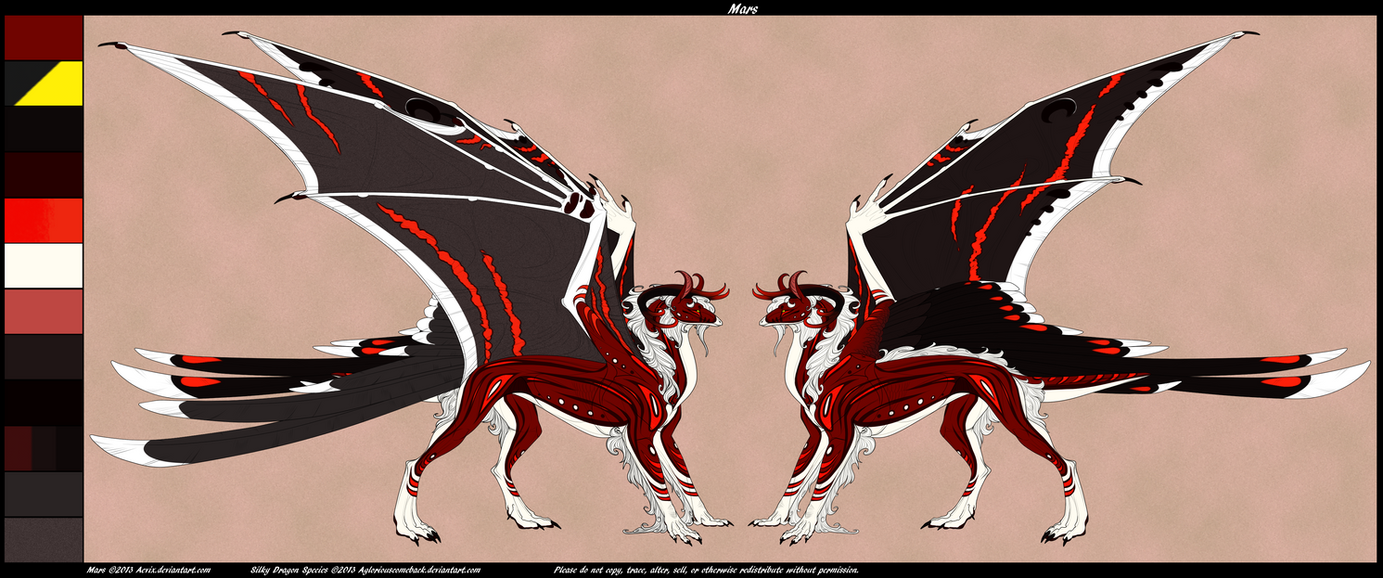 Mars Dragon Form [Ref] by Aevix