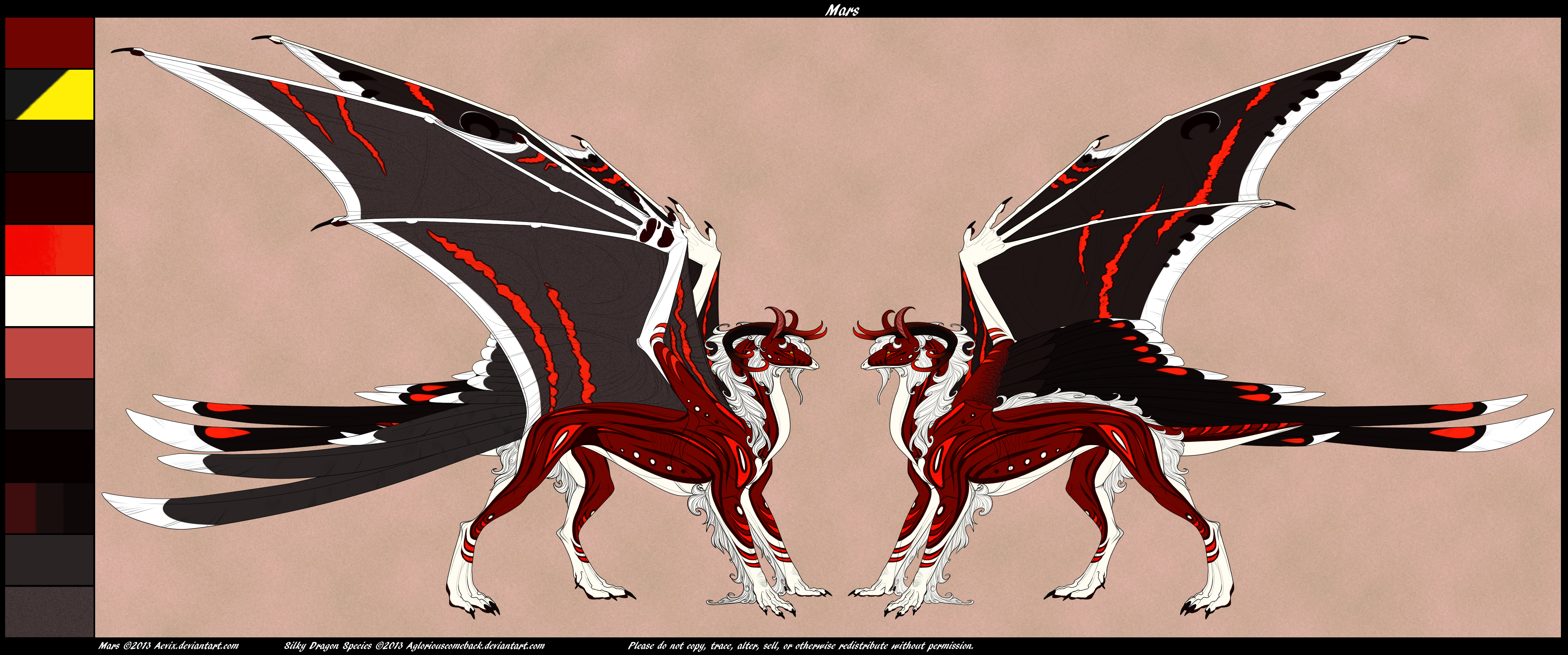 Mars Dragon Form [Ref] by Aevix