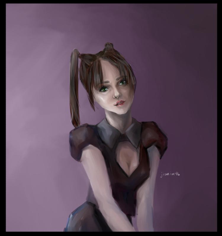 Dollface Portrait by jisan-inc