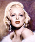 Marilyn in white by salvatoredevito