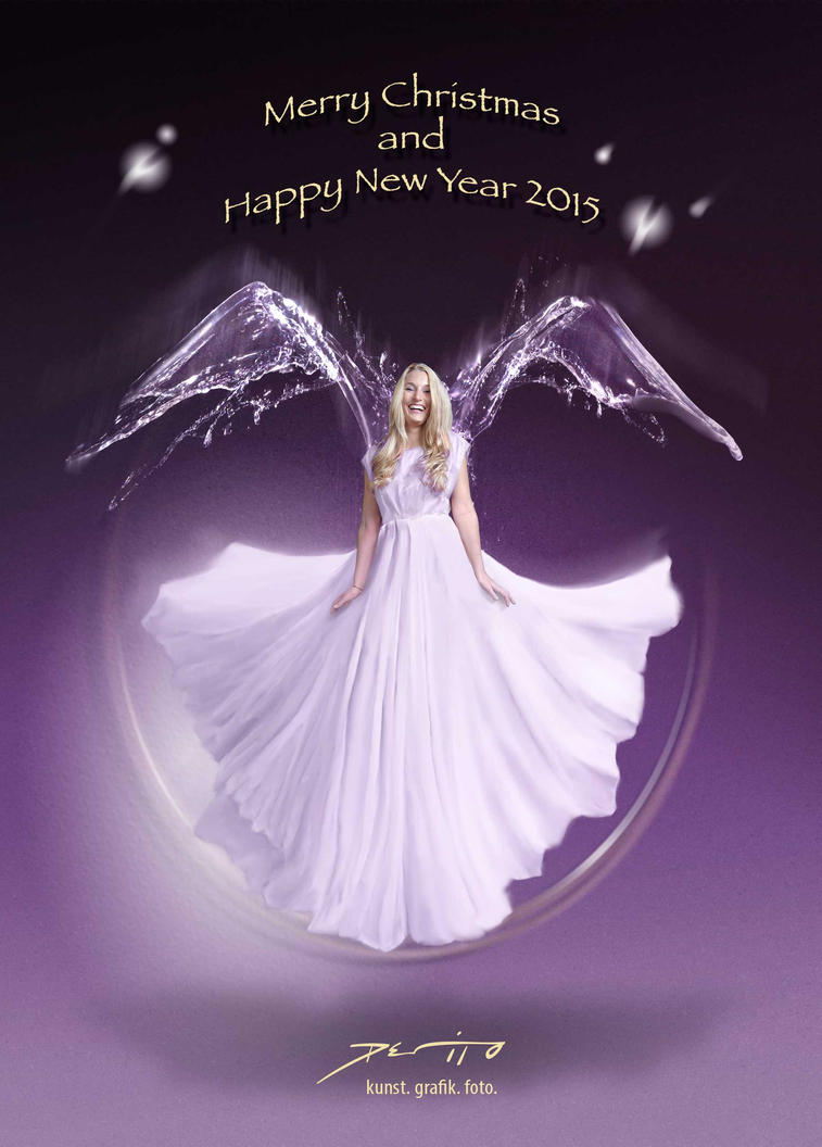 The Angel for 2015 by salvatoredevito
