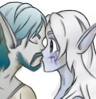 Alily Kiss by NadiaOak