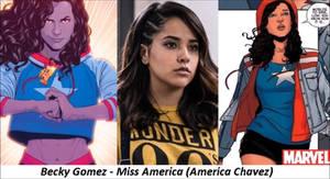 MARVEL - Miss America (America Chavez)