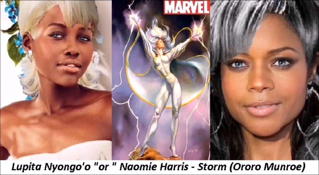 MARVEL - Storm (Ororo Munroe) by twiligthvampire89