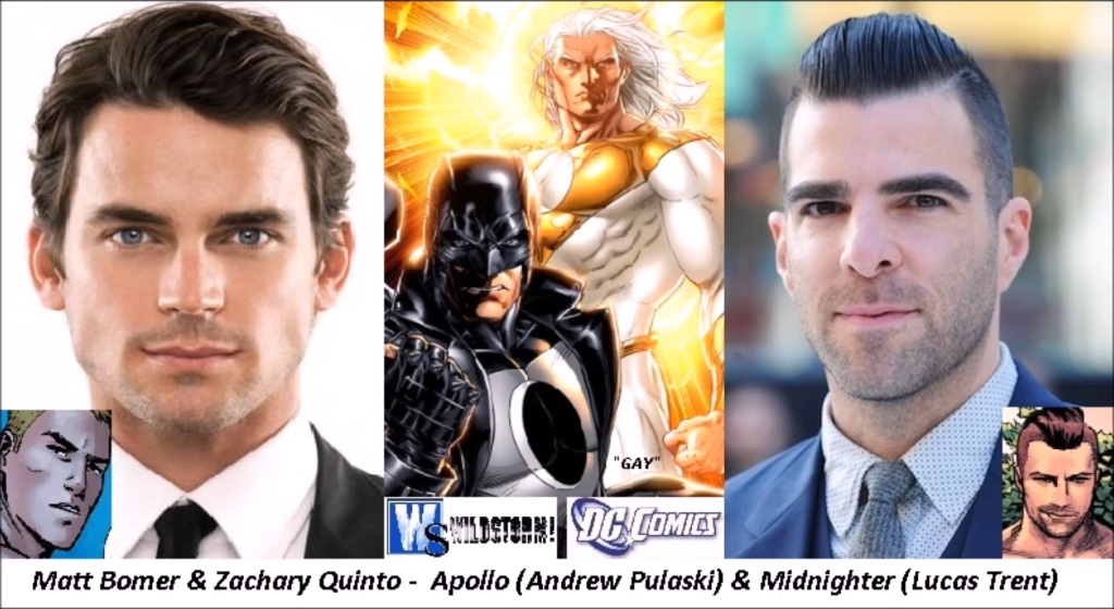 DC (Wildstorm) - Apollo and Midnighter by twiligthvampire89