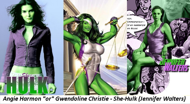 Marvel (Netflix) - She-Hulk by twiligthvampire89