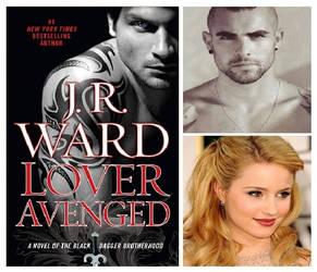 Lover Avenged - Rehvenge and Ehlena by twiligthvampire89