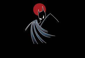 Batman by sthursby