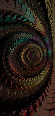 S10 Lock screen wallpaper - fractal