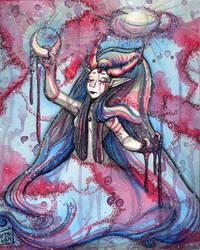 Goddess Galaxy by Detonya-KAN