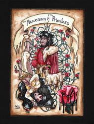 The Mercenary And The Priestess -Traditional by Detonya-KAN