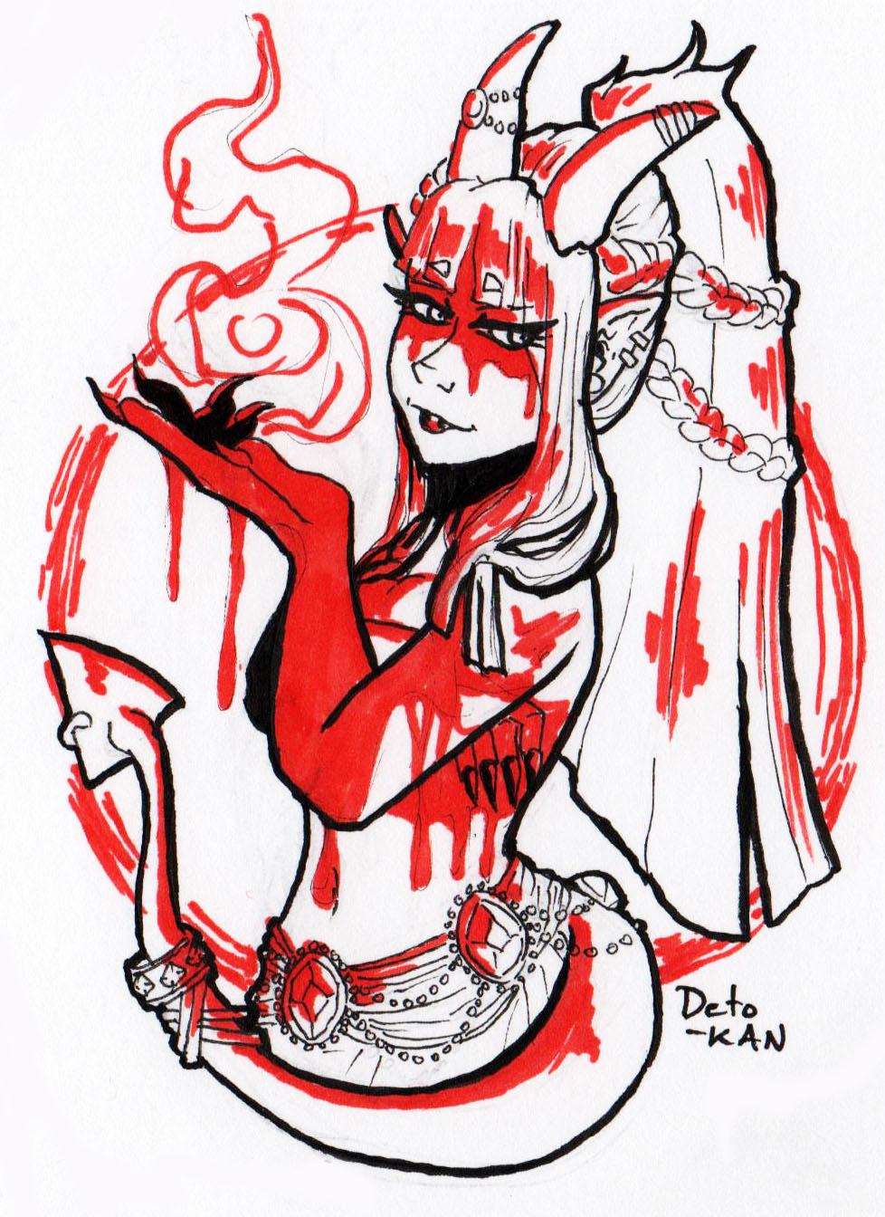 Demon Girl Love by Detonya-KAN
