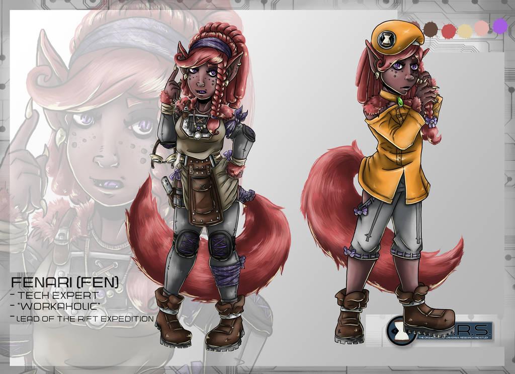Fen Character Sheet by Detonya-KAN