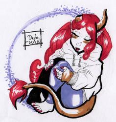 Bubble Demon by Detonya-KAN