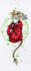 Shy Demon Boy by Detonya-KAN