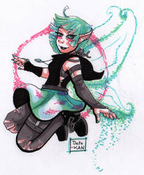 Satu the Fairy girl by Detonya-KAN