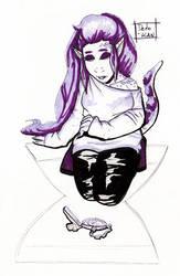 Camila the Chameleon girl by Detonya-KAN