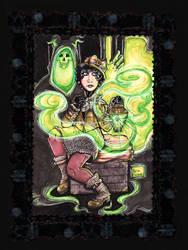 Ghost Hunter Nadya