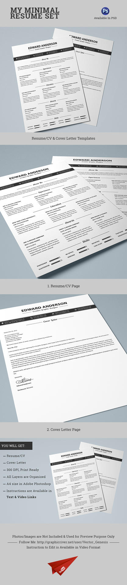 Modern Resume Template Free Cover Letter Resume