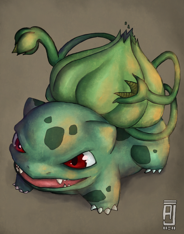 Bulbasaur by alpin-j