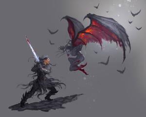 Kirin vs Vampiress