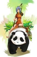 Panda rider Sejuani~ by ronnydie-vu06