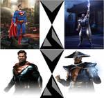 Superman VS Raiden, MK vs DC and Injustice 2