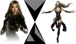 Black Canary Vs Sindel, Mortal Kombat VS DC Comics