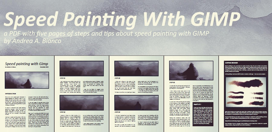 Speed Painting with GIMP by andreabianco