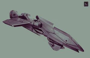 Sci-fi ship design