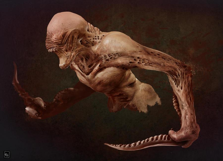 Creature speed painting