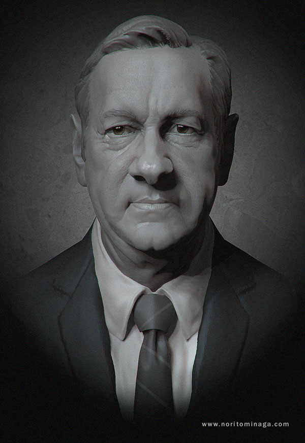 Frank Underwood - House of Cards by NoriTominaga